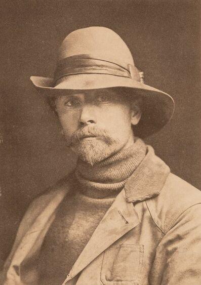 Edward Sheriff Curtis, 'Self Portrait', 1899