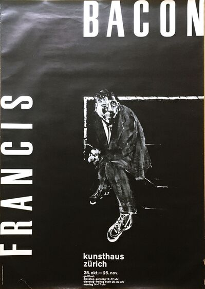 Francis Bacon, 'Kunsthaus Zurich', 1962