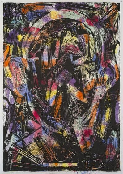 Jim Dine, 'The Bees and their Merriment', 2017