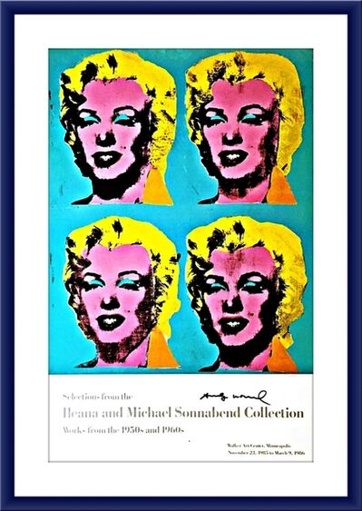Andy Warhol, 'Ileana and Michael Sonnabend Collection (Hand Signed)', 1985