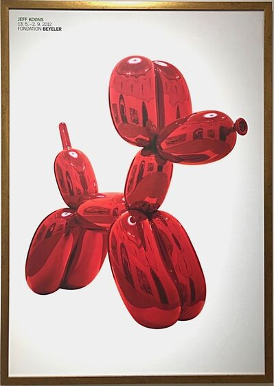 Jeff Koons, 'Balloon Dog (Red)', 2012