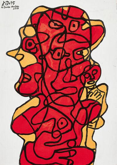 Jean Dubuffet, 'EFFIGIE INCERTAINE XXVI', 1975