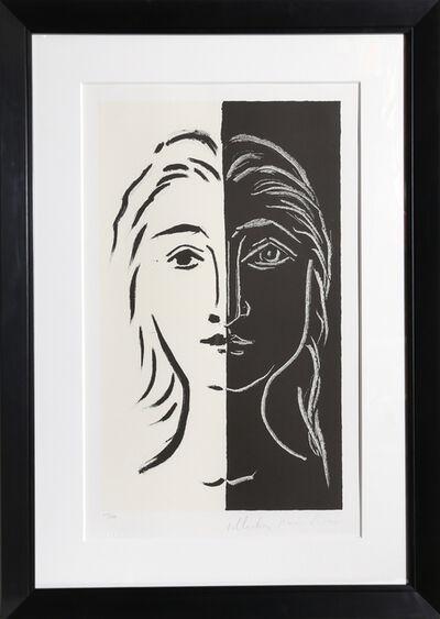 Pablo Picasso, 'Portrait en Deux Parties Noire et Blanche, 26-D', 1979-1982