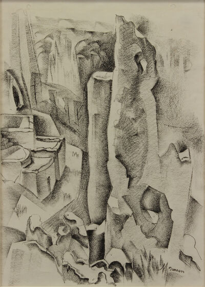 Raymond Jonson, 'Frijoles canyon', 1927