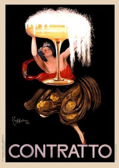 Leonetto Cappiello, 'CONTRATTO', 1922