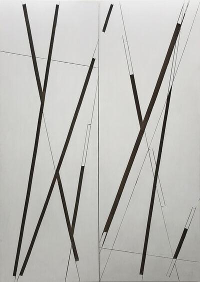 Manu Muniategiandikoetxea, 'ST. Díptico blanco', 2019
