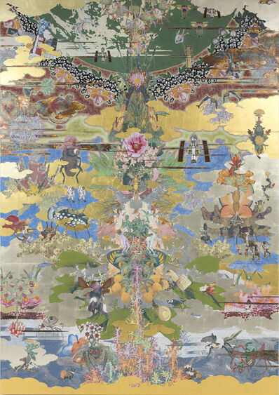 Masatake Kozaki, 'MUGEN - Tree of life-', 2020