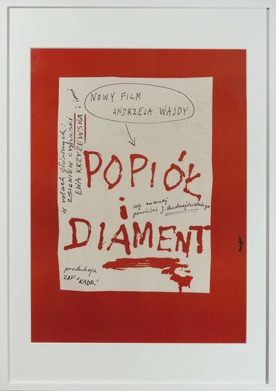 Wojciech Fangor, 'Popiót i diament', 1960