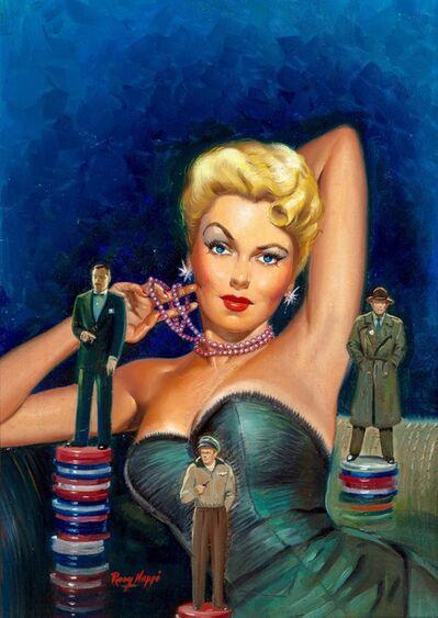 Rudy Nappi, 'Gambler's Girl, paperback cover', 1951
