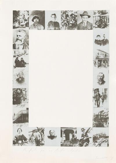 Jannis Kounellis, 'Manifesto Per Un Teatro Utopistico', 1979