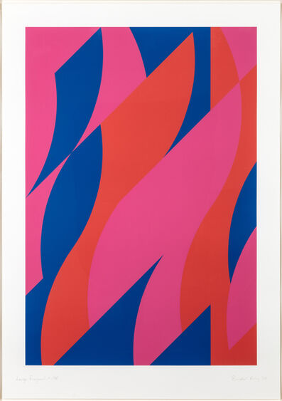 Bridget Riley, 'Large Fragment 2', 2009