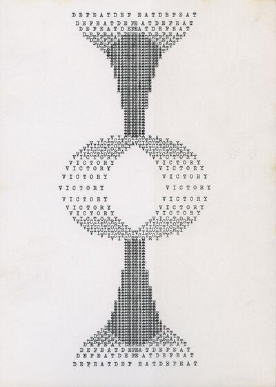 Ruth Wolf-Rehfeldt, 'Defeat / Victory', ca. 1970