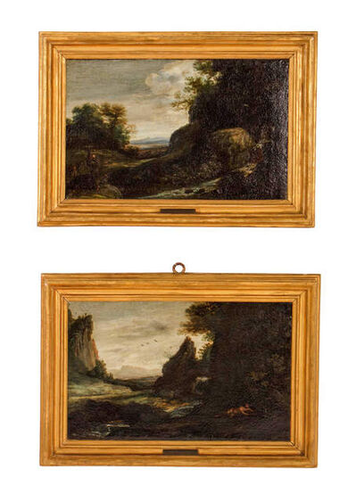 Circle of Claude Gellée, called Claude Lorrain, 'River Scenes'