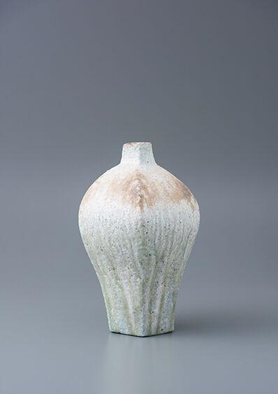 Ken Matsuzaki, 'Vase, yohen natural ash glaze', 2018