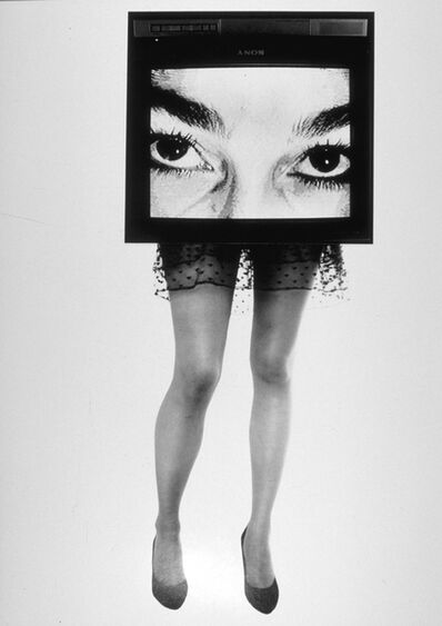 Lynn Hershman Leeson, 'TV Legs', 1990