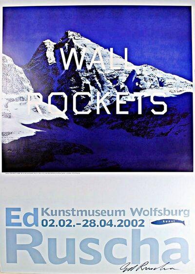 Ed Ruscha, 'Wall Rockets (Signed)', 2002