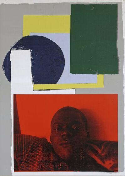 Linus Bill + Adrien Horni, 'Gemälde, p. 25', 2016