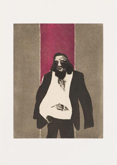 Fritz Scholder, 'Self Portrait in Roma', 1978