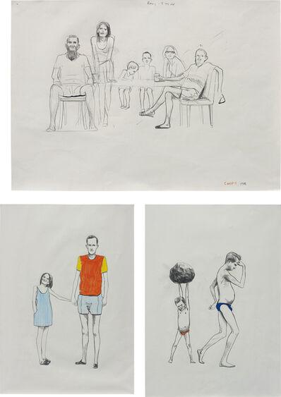 Charles Avery, 'Three works: Untitled', 1998