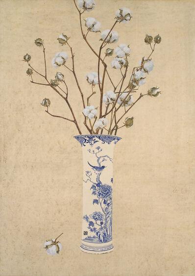 Lee Jung Eun (b. 1971), 'Cozy vase - Cotton', 2017