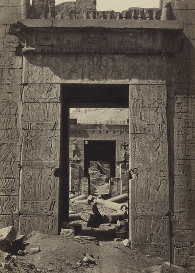 Francis Frith, 'Group of 5 photographs, comprising 4 of Egypt and and one of Ethiopia', Circa 1862