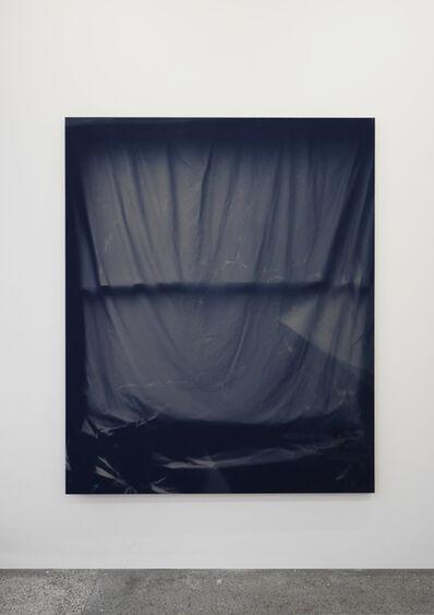 Chris Duncan, 'Bedroom Window (Blue#2) 6 Month Exposure. Summer-Winter 2013', 2015