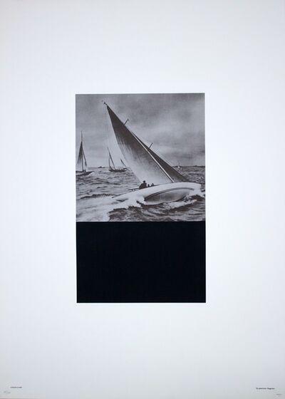 Fabio Mauri, 'Vincono a Vela', 1976