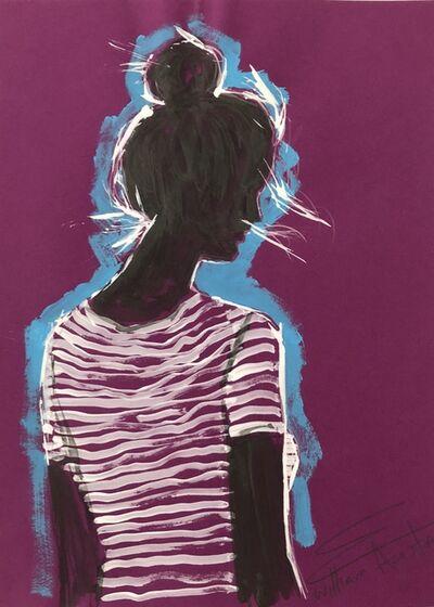 William Acosta, 'Blue Aura', 2018