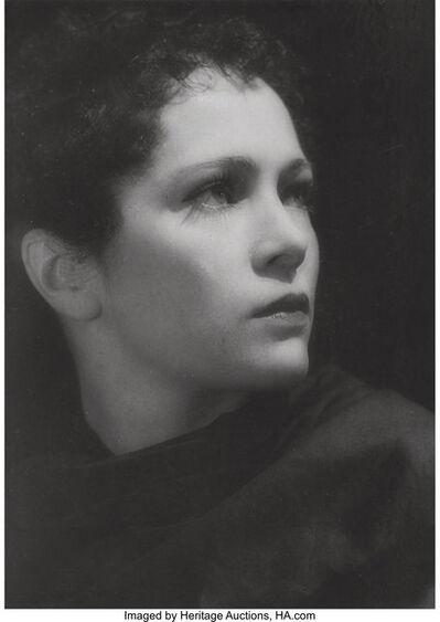 Dora Maar, 'Portrait of Nadia Sibiskaïa', 1930