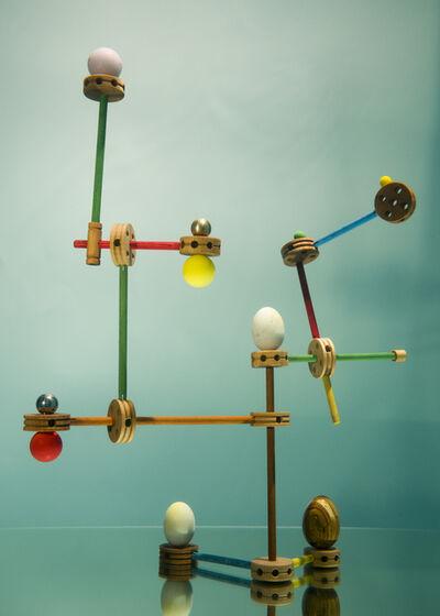 Alejandro Almanza Pereda, 'Tinkertoy (Eggs and Balls)', 2016