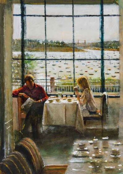 Clive McCartney, 'Couple, The Grand Hotel, Dinard', 2020