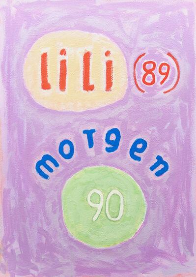 C.O. Paeffgen, 'o.T. (lili 89 morgen 90)', 1991