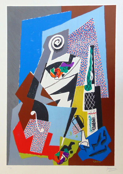 Gino Severini, 'Still Life with Violin', 1964