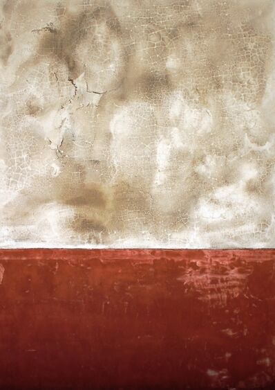 Adalina Coromines, 'Textura geomètrica beige i vermella', 2020