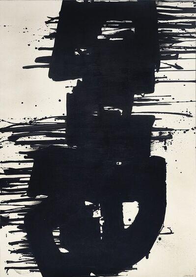 Pierre Soulages, 'Peinture 202 x 143 cm, 21 septembre 1967', 1967