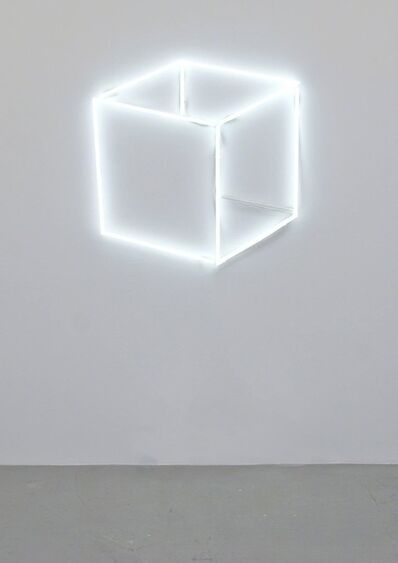 Jeppe Hein, 'Neon Cube Perspective', 2013
