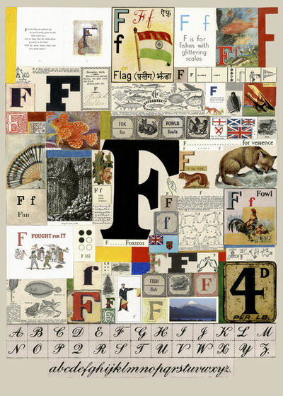 Peter Blake, 'The Letter F', 2007
