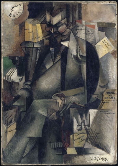 Albert Gleizes, 'The Publisher Eugene Figuiere (1882-1944)', 1913