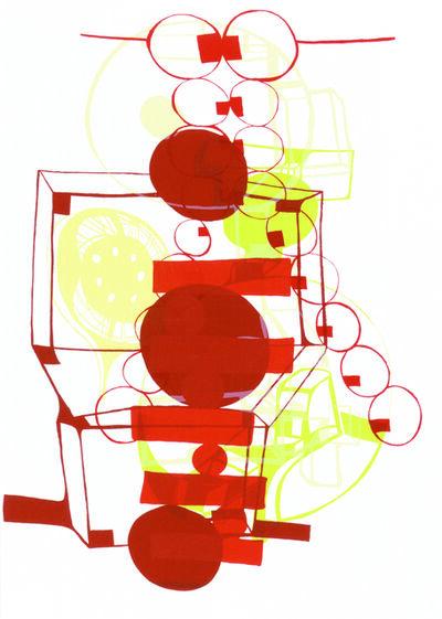 Joanne Greenbaum, 'Untitled Outtakes: #3', 2002