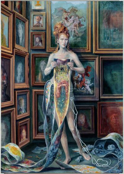 Julie Heffernan, 'Self-Portrait with Daughters', 2018-2020