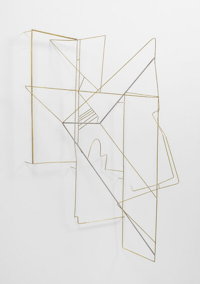 Sara Barker, 'drawing, holding, wearing, weaving is complicated', 2015