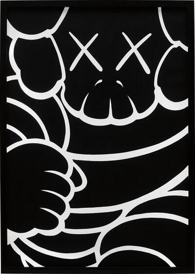 KAWS, 'Running Chum - Bus Stop', 2001