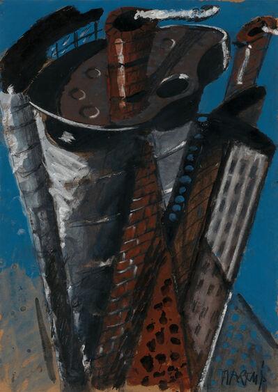 "Markus Lüpertz, '""Untitled (Babylon)""', 1975"