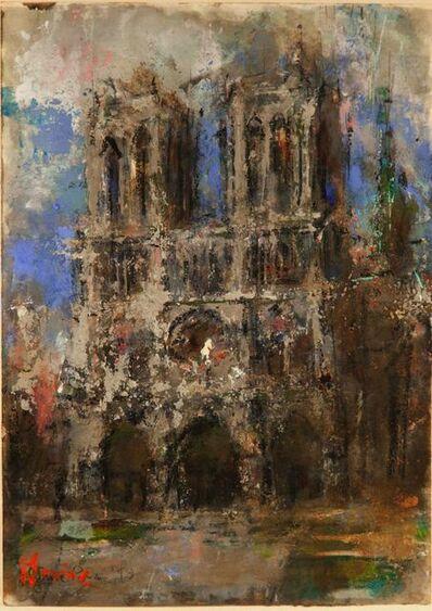 Jack Levine, 'Notre Dame, Paris', 1993