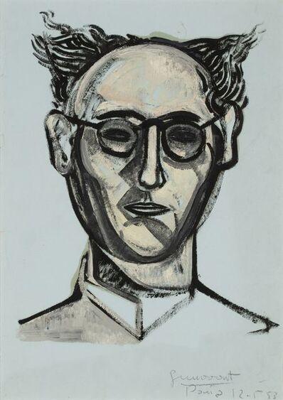 Josep Guinovart, 'Portrait of a man', 1953