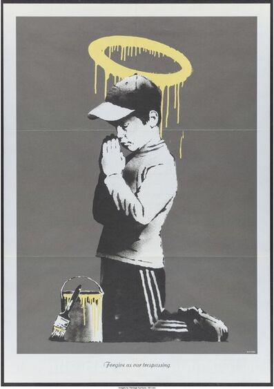 Banksy, 'Forgive Us Our Trespassing, promotional poster for Exit Through the Gift Shop'