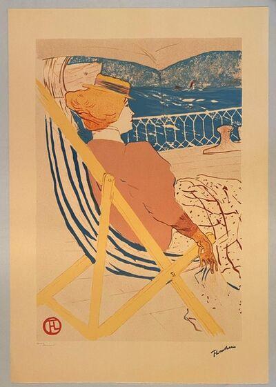 Henri de Toulouse-Lautrec, 'Passagère du 54', 1982