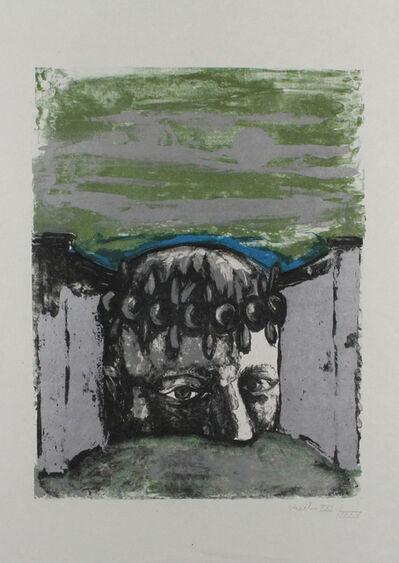 Sergio Vacchi, 'Selbstbildnis / Self-Portrait', 1965