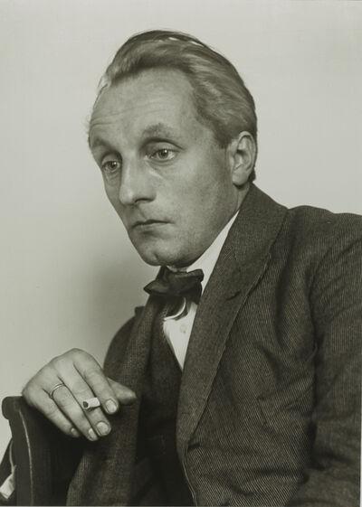 August Sander, 'Painter [Franz M. Jansen]', ca. 1924