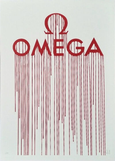 Zevs, 'Liquidated Omega (from Liquidated London set)', 2012